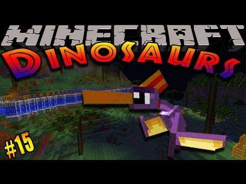Minecraft Dinosaurs - ( Dinosaur mod ) - Episode 15 - WOOLY MAMMOTH!!