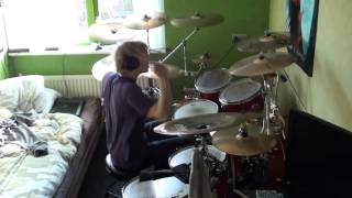 Nightwish - Bye Bye Beautiful drum cover