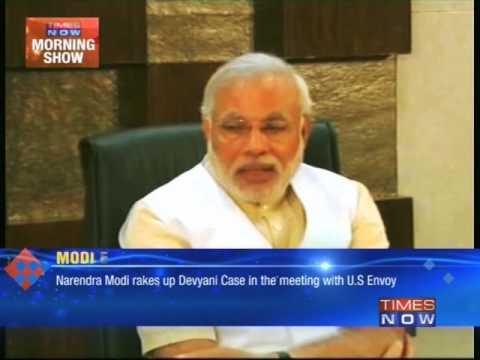 Narendra Modi meets US envoy, rakes up Devyani Khobragade case