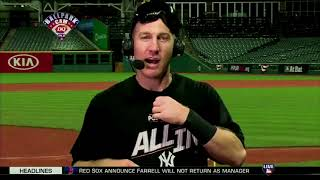 Todd Frazier Postgame Interview | Yankees vs Indians Game 5 ALDS