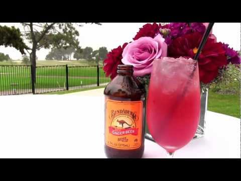 0 San Diego Drinks   Ginger Spritzer Non alcoholic Drink at Lodge at Torrey Pines