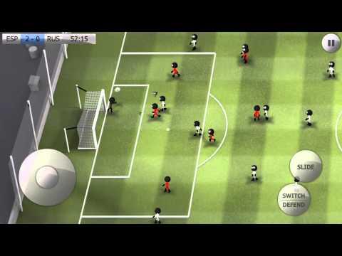Stickman Soccer - Spain 3 / Russia 0