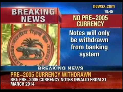 NewsX: To curb fake currency racket in India, RBI decides to withdraw all pre-2005 currency notes