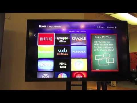 Westinghouse 50-Inch LED Roku Ready HDTV Hands On
