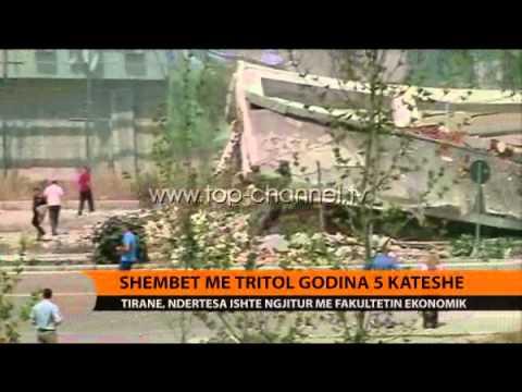 Shembet me tritol 5-katëshi tek Ekonomiku - Top Channel Albania - News - Lajme