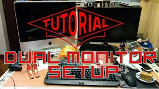 How to: Use another computer (laptop) as a second computer monitor - (Read Description)
