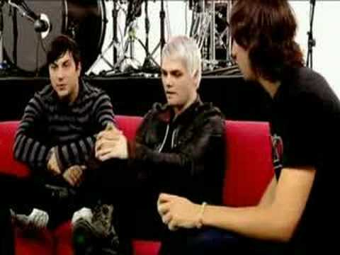 MCR - Live at 4Music Presents - interviews (2006-10-29)