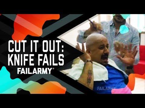 Cut it Out: Knife Fails (October 2018) | FailArmy