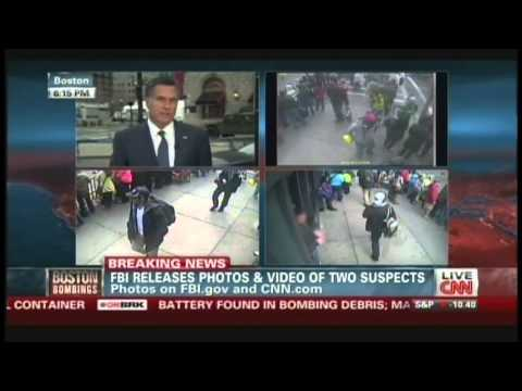 Mitt Romney Interview, Boston Marathon Bombings News Coverage (April 18, 2013, 6:09 PM)