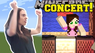 REACTING TO A MINECRAFT CONCERT!!!