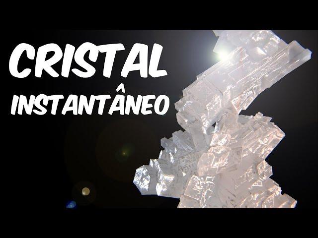 Como fazer um cristal instantâneo (Superquímica)
