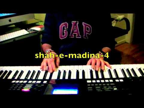 Naat : Shah E Madina With Lyrics On Keyboard video