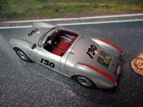 Schuco 1 43 Porsche 550 Spyder James Dean Review Youtube