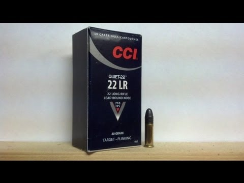 CCI QUIET AMMO TEST/REVIEW