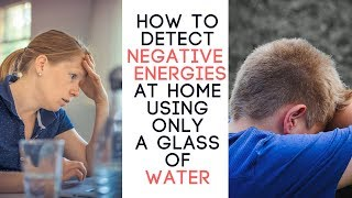 How to Detect Negative Energy Using salt water treatment
