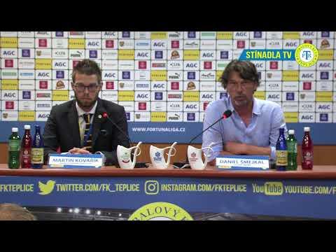 Tisková konference domácího trenéra po utkání Teplice - Slavia (25.8.2018)