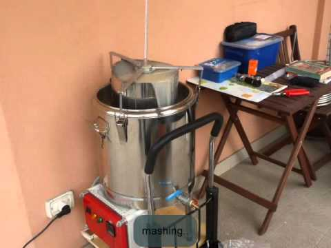 BIAB brewing - first application of my electric rig (braumeister clone)