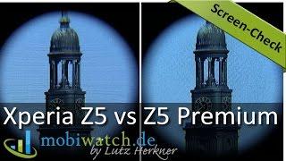 Sony Xperia Z5 Premium: Was bringt das 4K-Display wirklich? Screen-Check