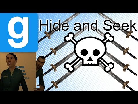 Garry's Mod HIDE AND SEEK! | MANY SWORDS, MUCH DEATH! (26)