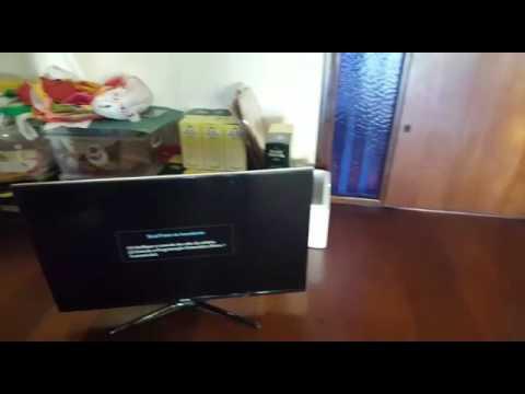 TV SAMSUNG MODELO UN40F6400AGXZD LIGA E DESLIGA  18.11.16 AS 18:23
