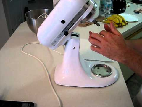 quick kitchenaid mixer repair(replaced by newer version)