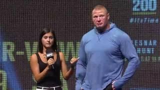 UFC 200: Brock Lesnar Q&A