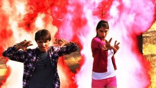 Power Rangers Dino Super Charge Red And Pink Ranger