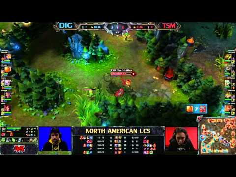 DIG vs TSM - LCS 2013 NA Spring W2D1 (English)