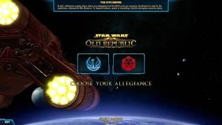 Zagrajmy  w \ Let's play : Star wars the old republic BETA 1/3