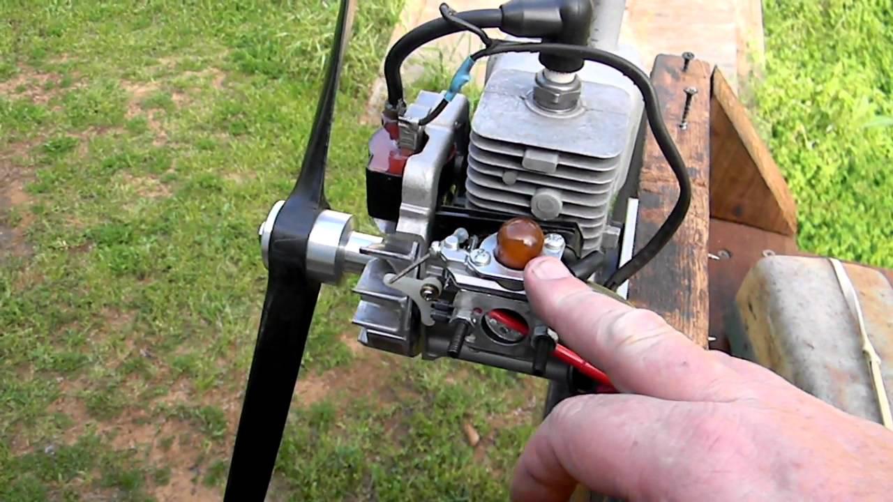 Homelite 25cc Air Boat Engine Running Henry Youtube