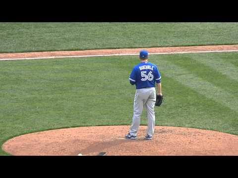 Jays Mark Buehrle Warm Up Pitches HD