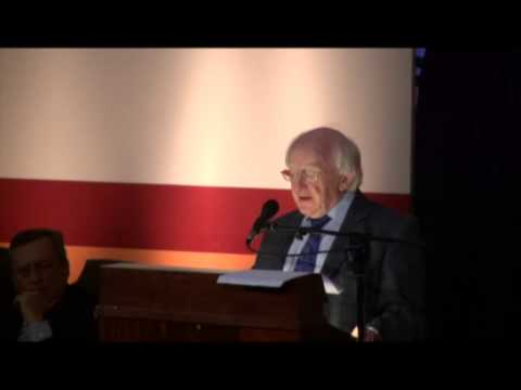 Presidnet Higgins at the National Academy of Medicine - OSDE Foundation CARI Lecture 12/10/12