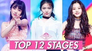 PRODUCE48 TOP12 STAGES (MY FAVOURITES)