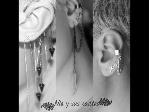 Ear Cuff y perforaciones orejas