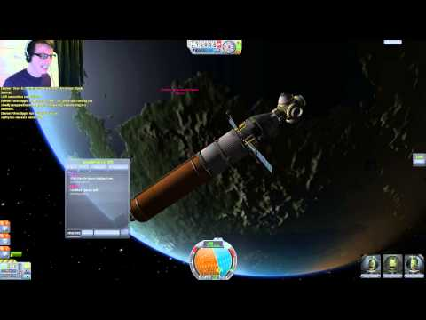 Kerbal Space Program : Multiplayer Mod Docking