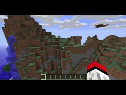 Minecraft Seed Showcase: Extreme Hills Biome!!!