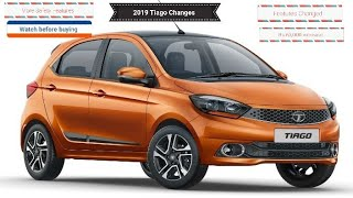 2019 Tata Tiago Changes