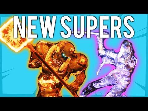 Destiny 2 FORSAKEN ALL NEW SUPERS - TITAN, WARLOCK, HUNTER NEW ABILITIES thumbnail
