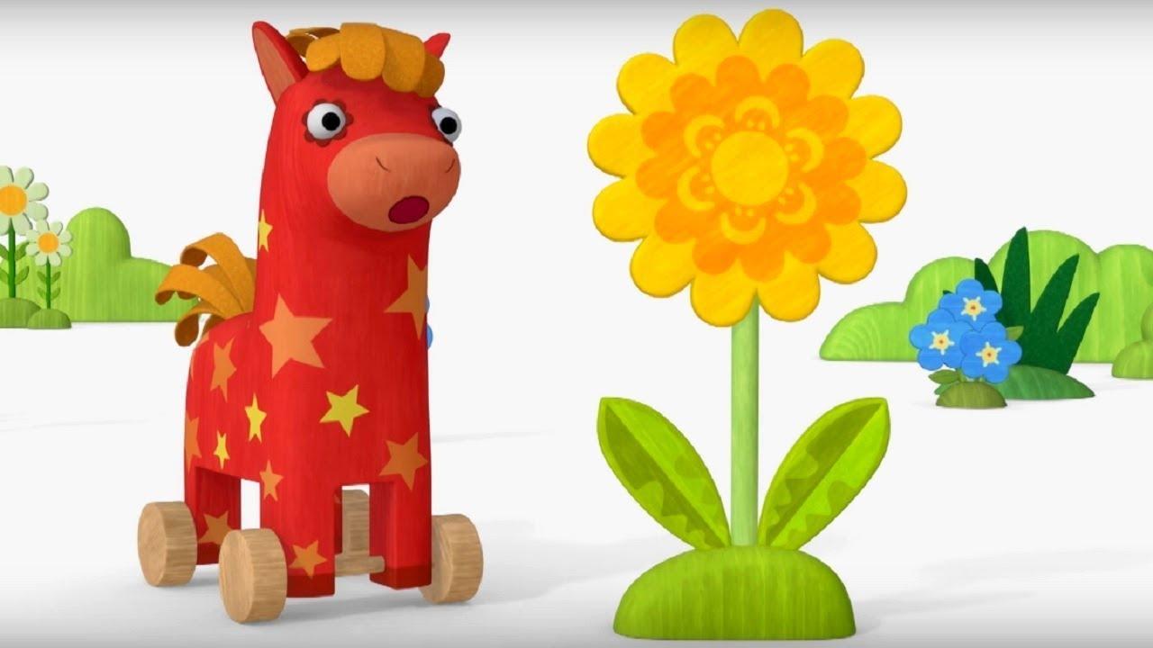 Деревяшки - сборник серий 8 - развивающие мультфильмы для самых маленьких  0-4