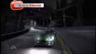 Videoanálisis Need for Speed Carbono