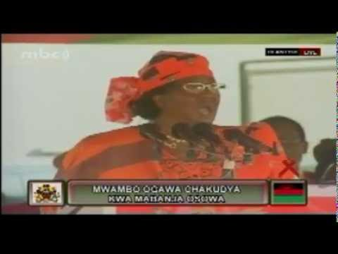 President Joyce Banda's Speech at Ndirande, December 1, 2012