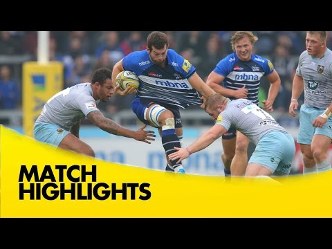Sale Sharks Vs Northampton Saints - Aviva Premiership 2015/16