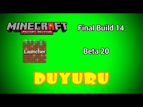 Minecraft PE 0.11.0 Build 14 - Block Launcher 1.9.5 Beta ve Duyuru