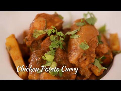 How To Make Chicken Potato Gravy || Archana's Rasoi