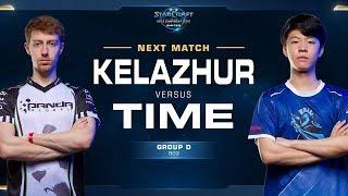 Kelazhur vs TIME TvT - Ro16 Group D Decider - WCS Winter Americas