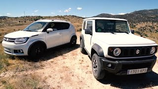 Suzuki Jimny vs Suzuki Ignis - Prueba / Test / Review / Offroad 4x4