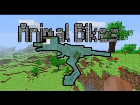 Minecraft 1.4.5 - Como instalar Animal Bikes MOD Review y Tutorial.