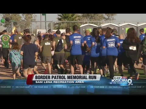Border Patrol Memorial Run gives money to Tucson...