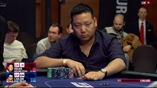 Sick Poker Hand at the EPT Prague Main Event Final Table | PokerStars