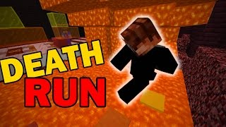 LAVA DEATH RUN WITH THE PACK (Minecraft Custom Mini Game)